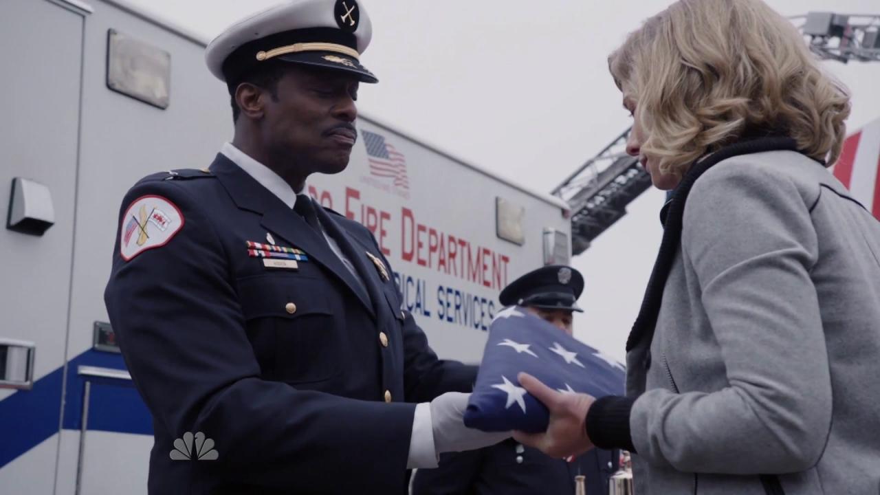 Chicago Fire: Shay's Dedication Ceremony