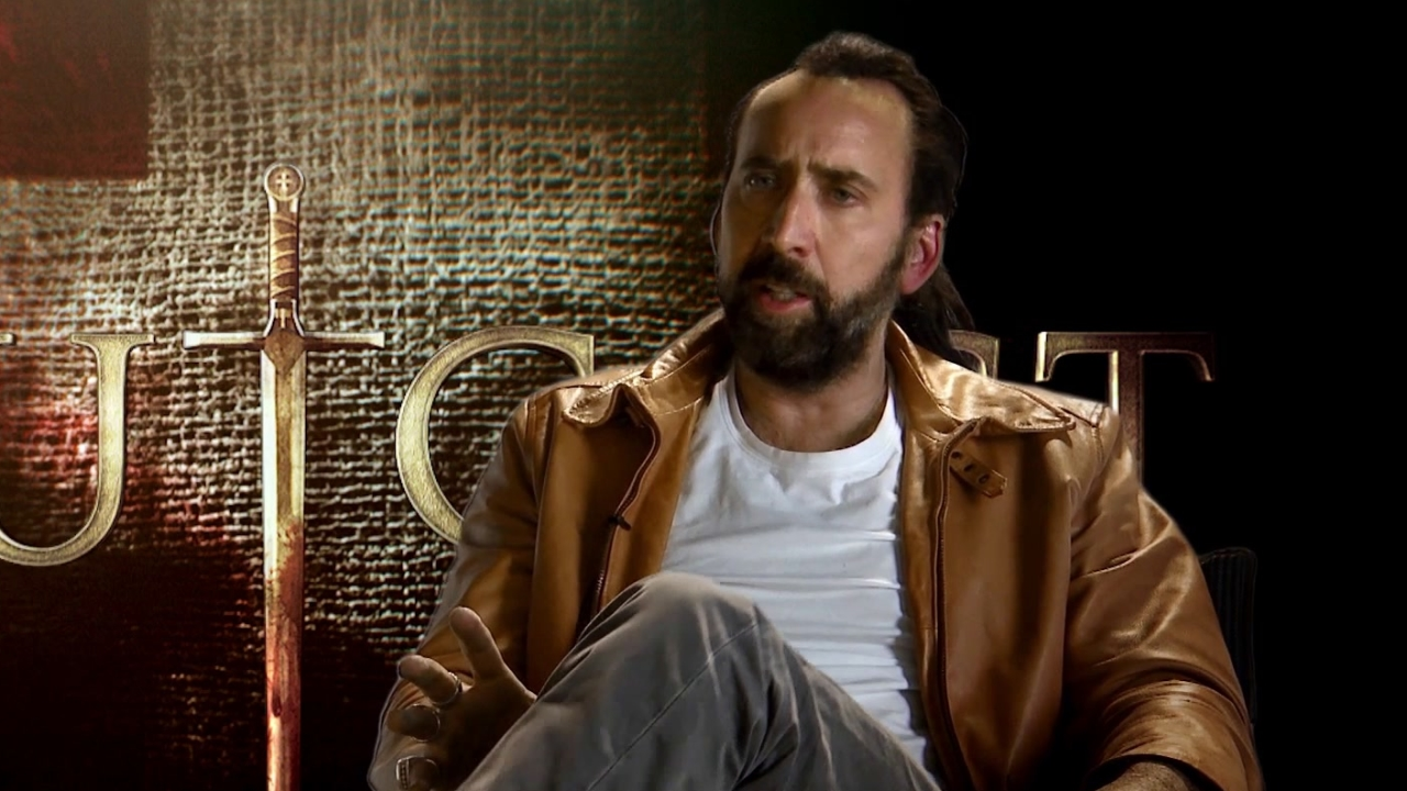 Outcast: Nicolas Cage On Working With Director Nick Powell