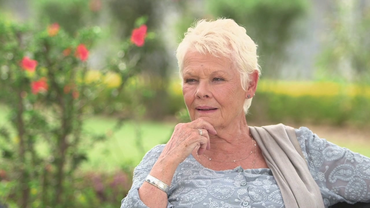 The Second Best Exotic Marigold Hotel: Judi Dench On The Success Of The First Film