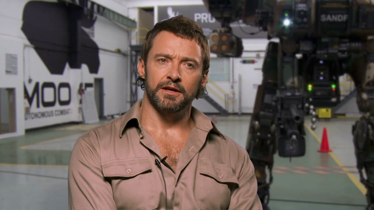 Chappie: Hugh Jackman On His Character