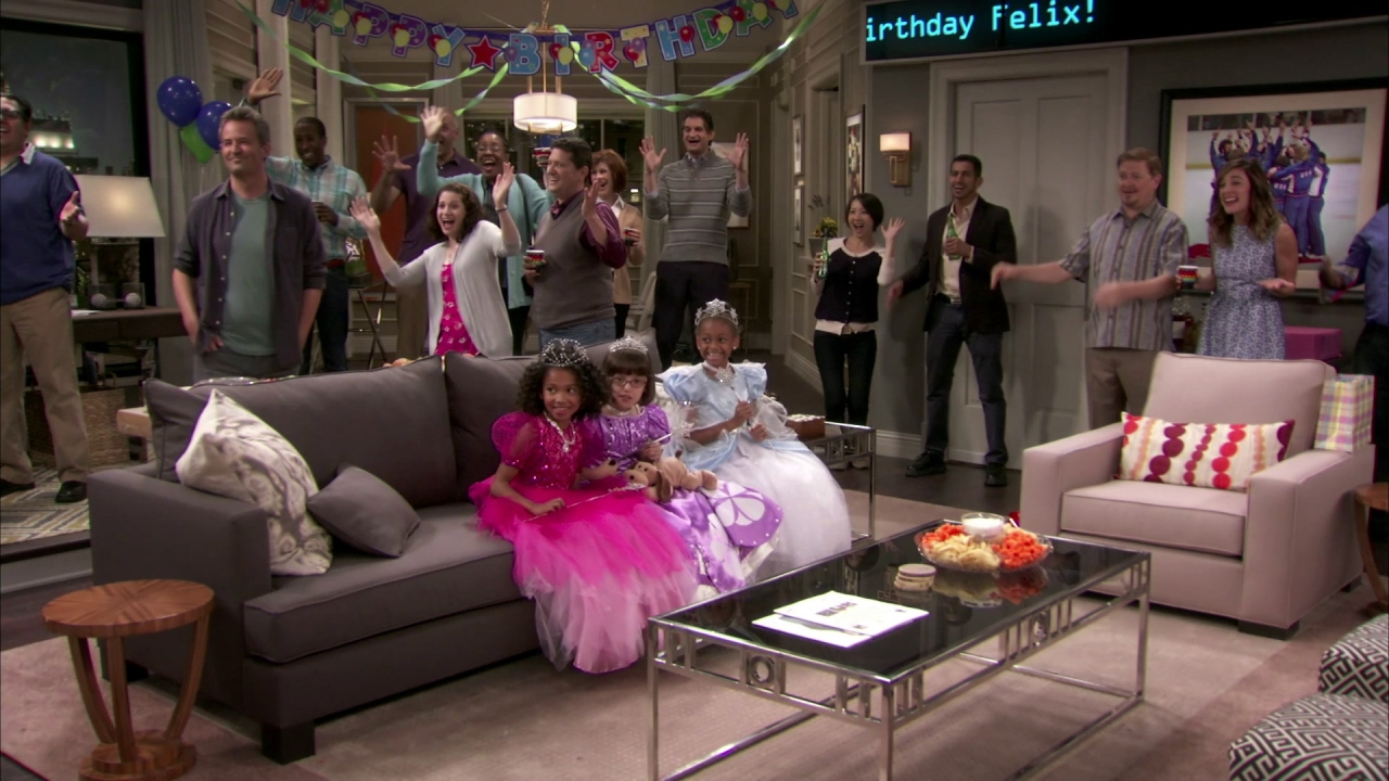 The Odd Couple: The Birthday Party