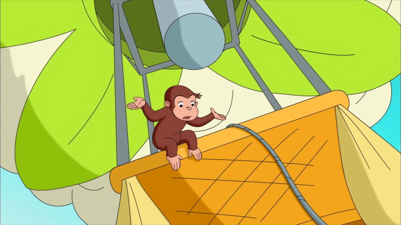 Curious George: Up, Up and Away/Skunked