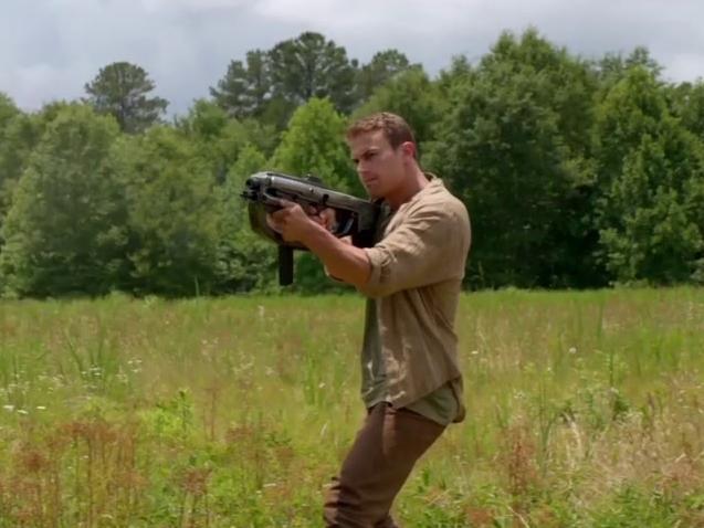The Divergent Series: Insurgent: Train