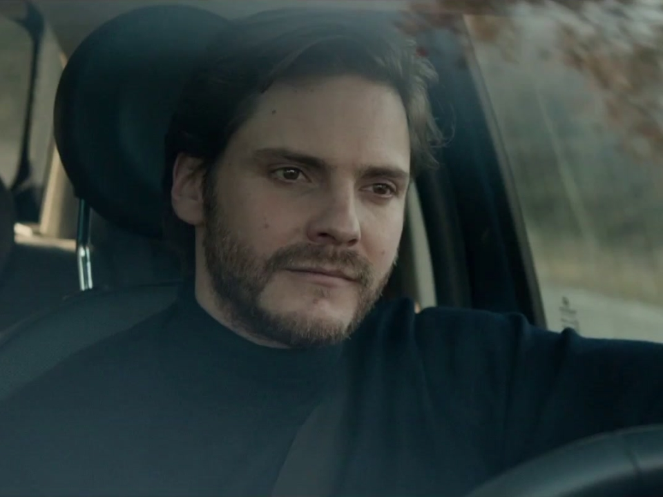 The Face Of An Angel: Thomas And Melanie In The Car