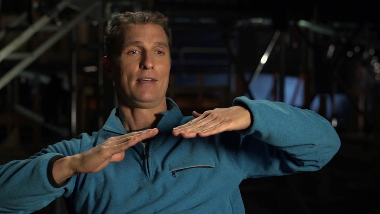 Interstellar: Matthew Mcconaughey On Zero-G