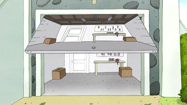 Regular Show: Garage Door