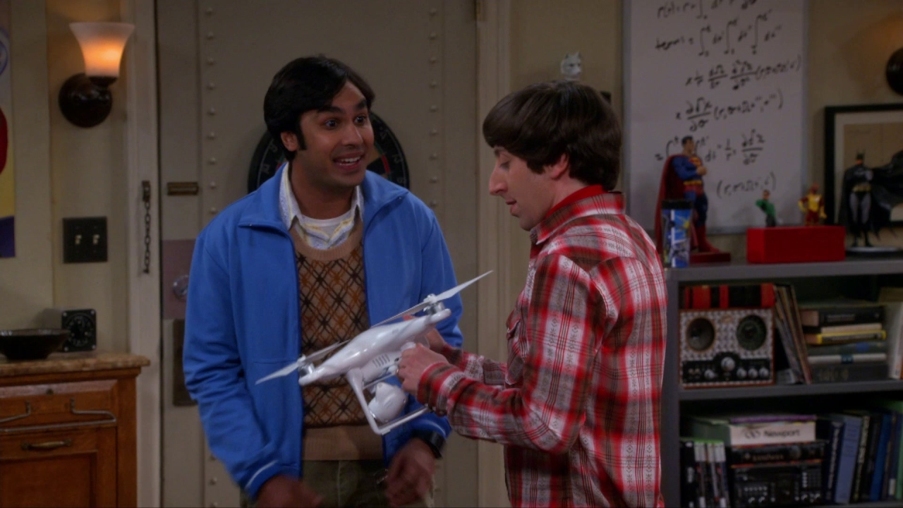 The Big Bang Theory: The Graduation Transmission