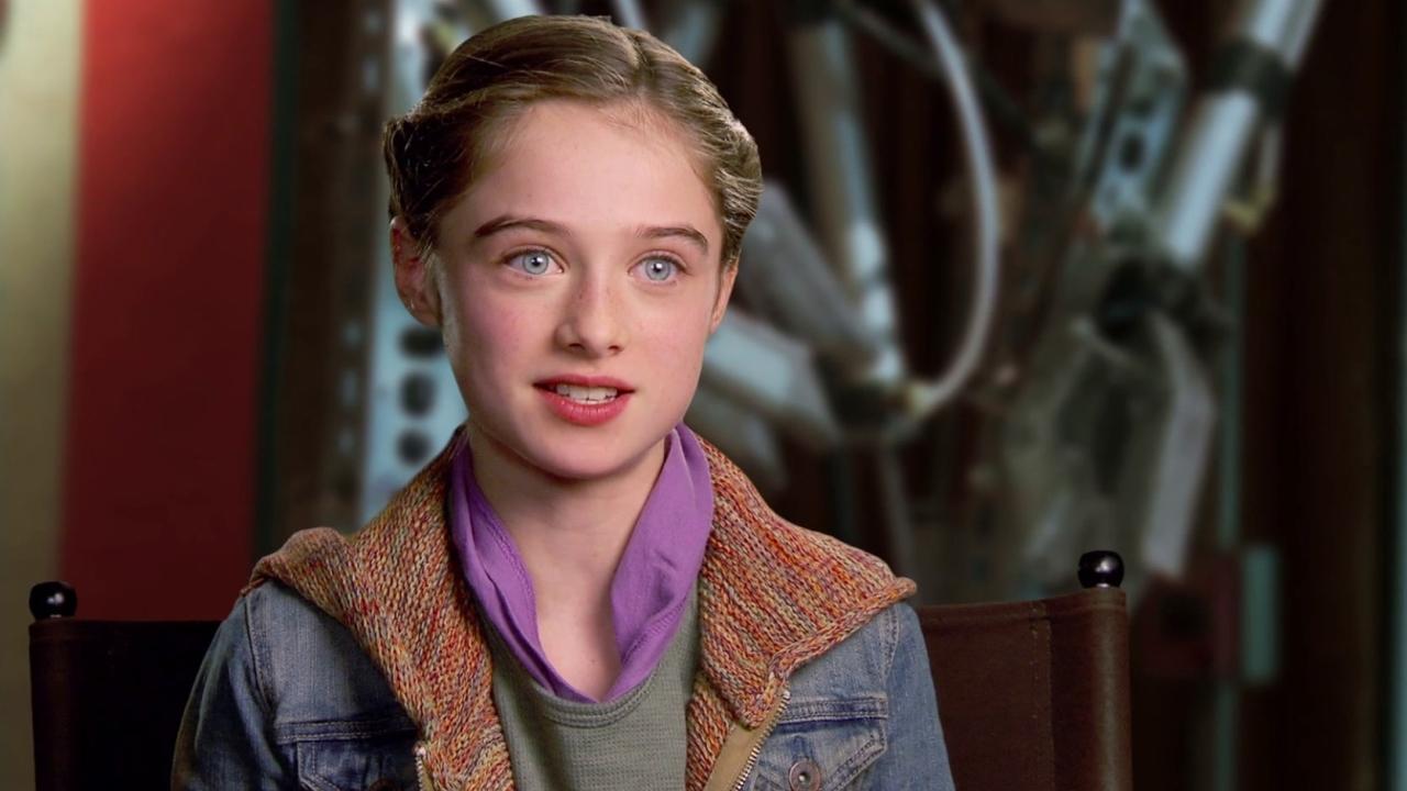 Tomorrowland: Raffey Cassidy On Britt Robertson
