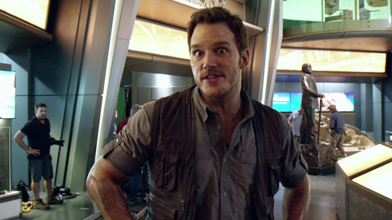 Jurassic World: Chris Pratt's Journals: Slap Happy