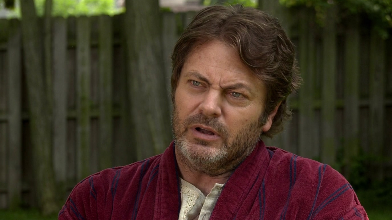Me And Earl And The Dying Girl: Nick Offerman On Connie Britton As His Wife