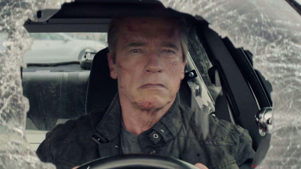 Terminator: Genisys: Bus On The Bridge