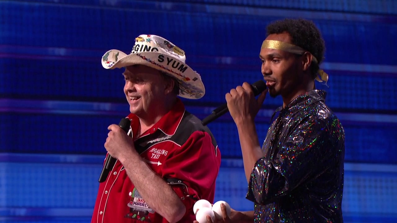 America's Got Talent: Juggling Taxi