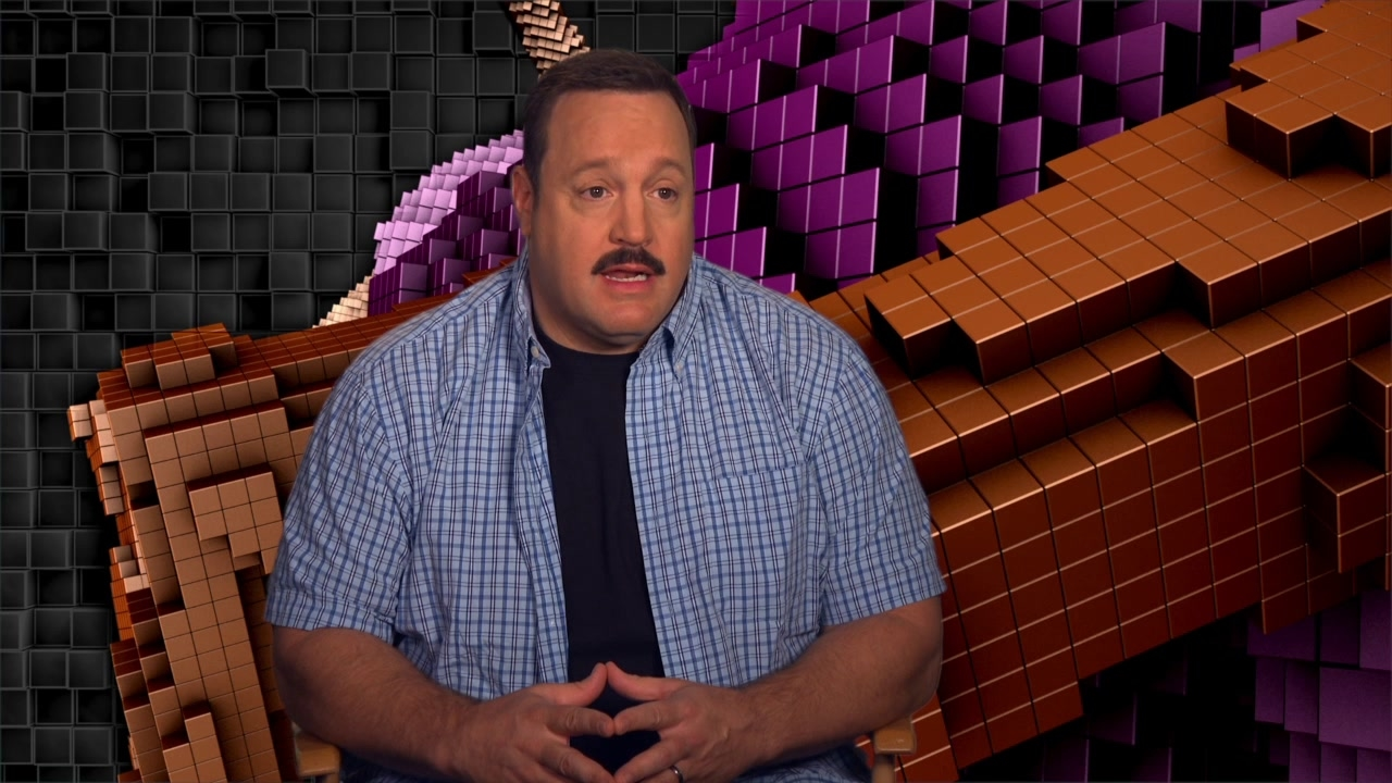 Pixels: Kevin James On The Arcade Characters In The Film