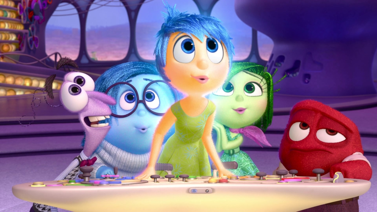 Inside Out: Disgust And Anger
