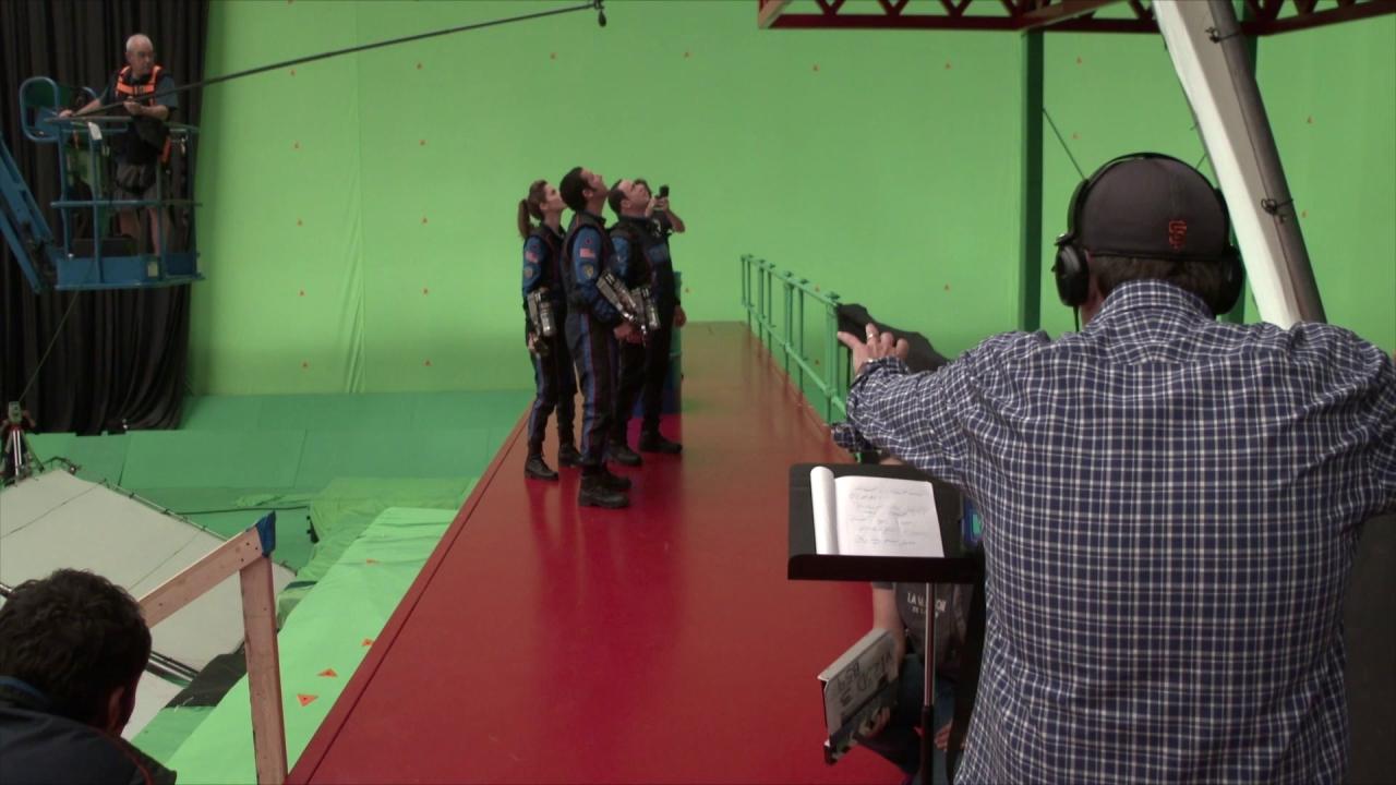 Pixels: Chris Columbus On The Set (UK)