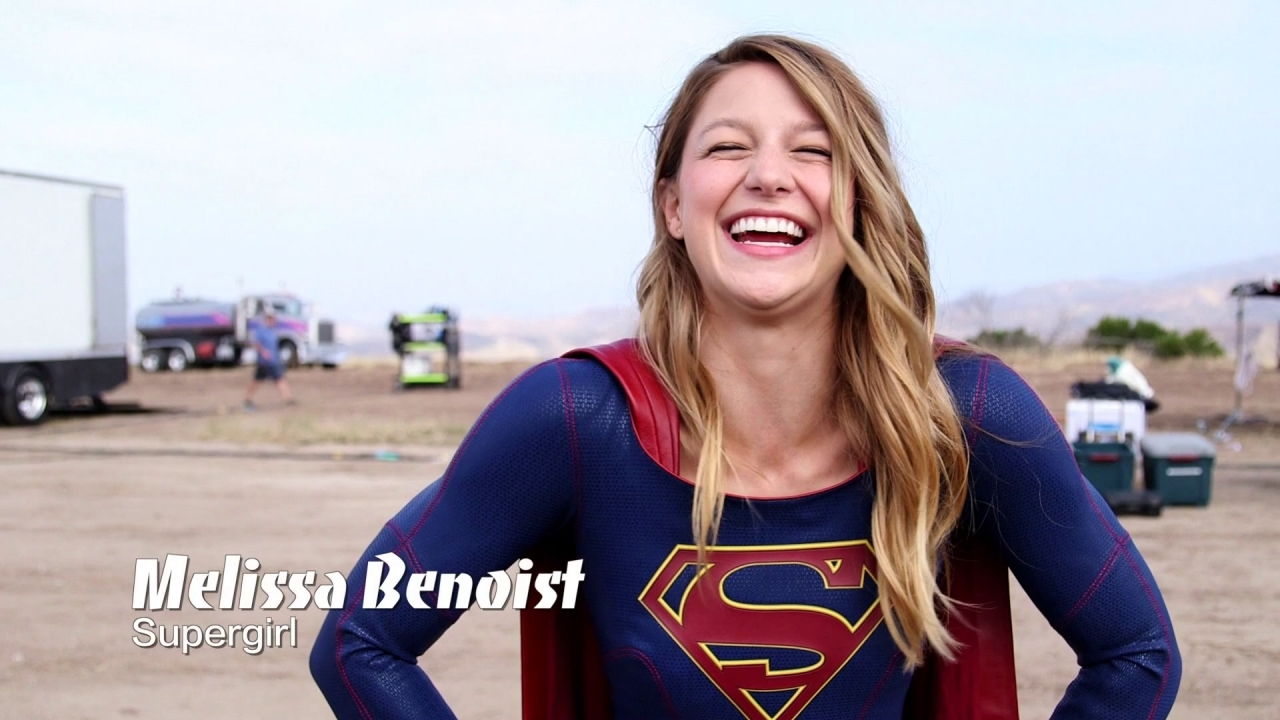 Supergirl: First Day On Set