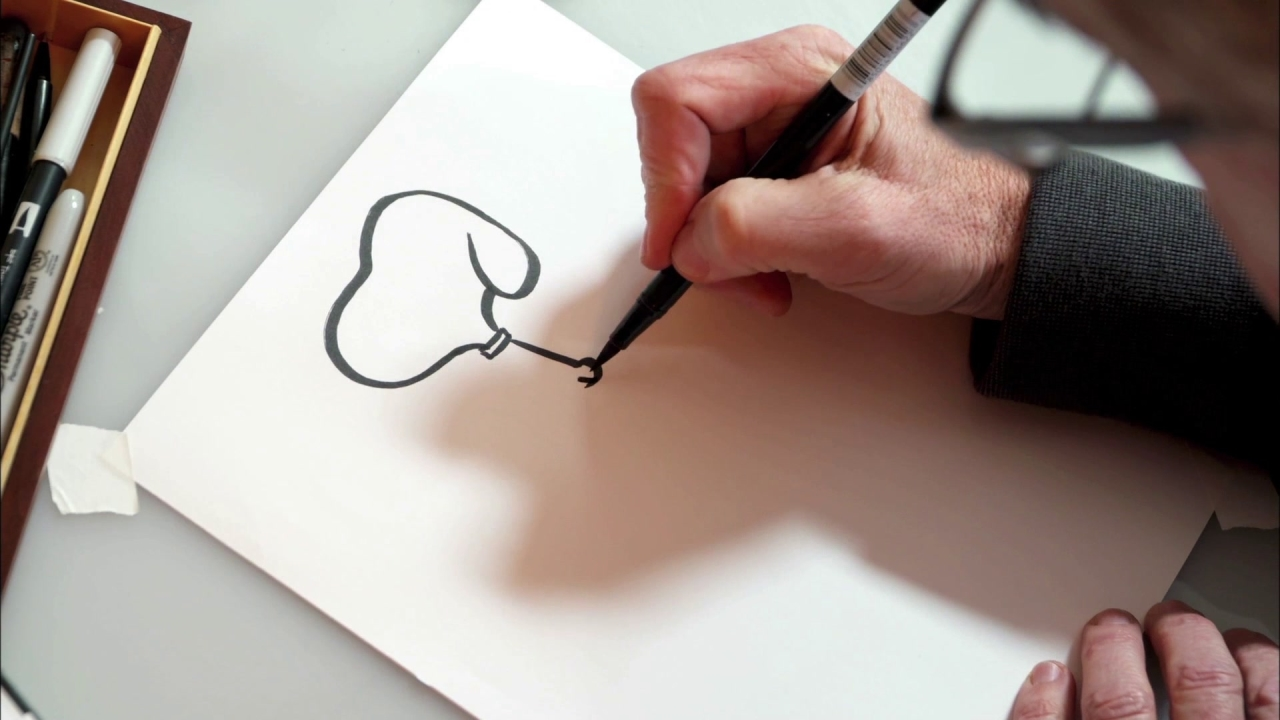 The Peanuts Movie: How To Draw Snoopy