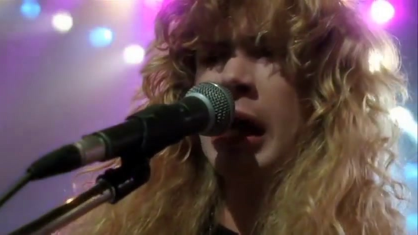 The Decline Of Western Civilization II: The Metal Years: Megadeth Talk And Perform