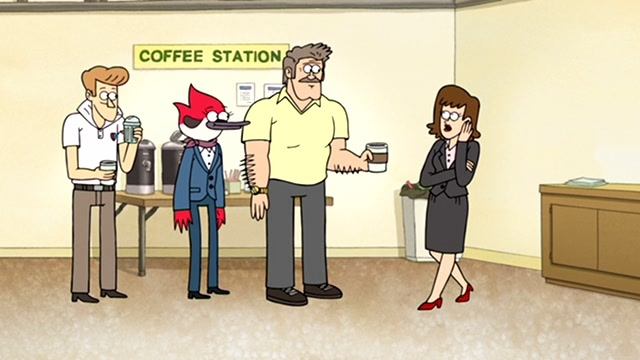 Regular Show: Local News Legend