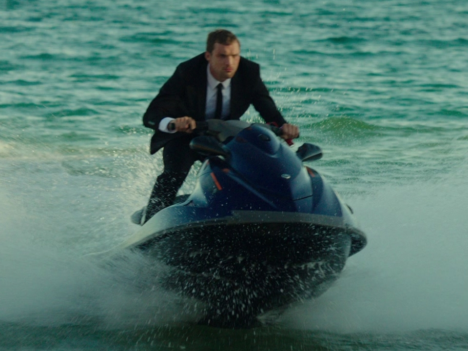 The Transporter Refueled: Jet Ski