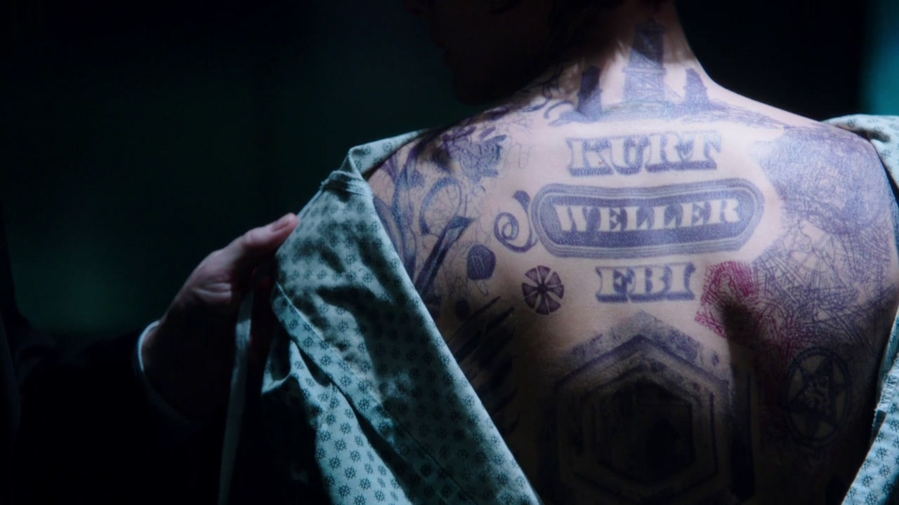 Blindspot: Why's Your Name Tattooed On Her Back