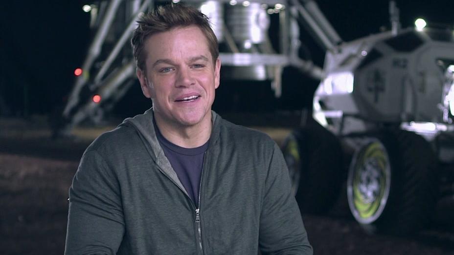 The Martian: Matt Damon Talks About The Script And Ridley Scott