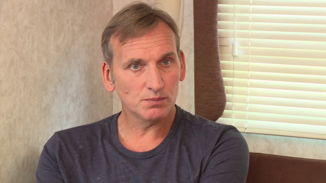 Legend: Christopher Eccleston On Who The Kray Twins Were