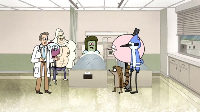 Regular Show: Struck By Lightning