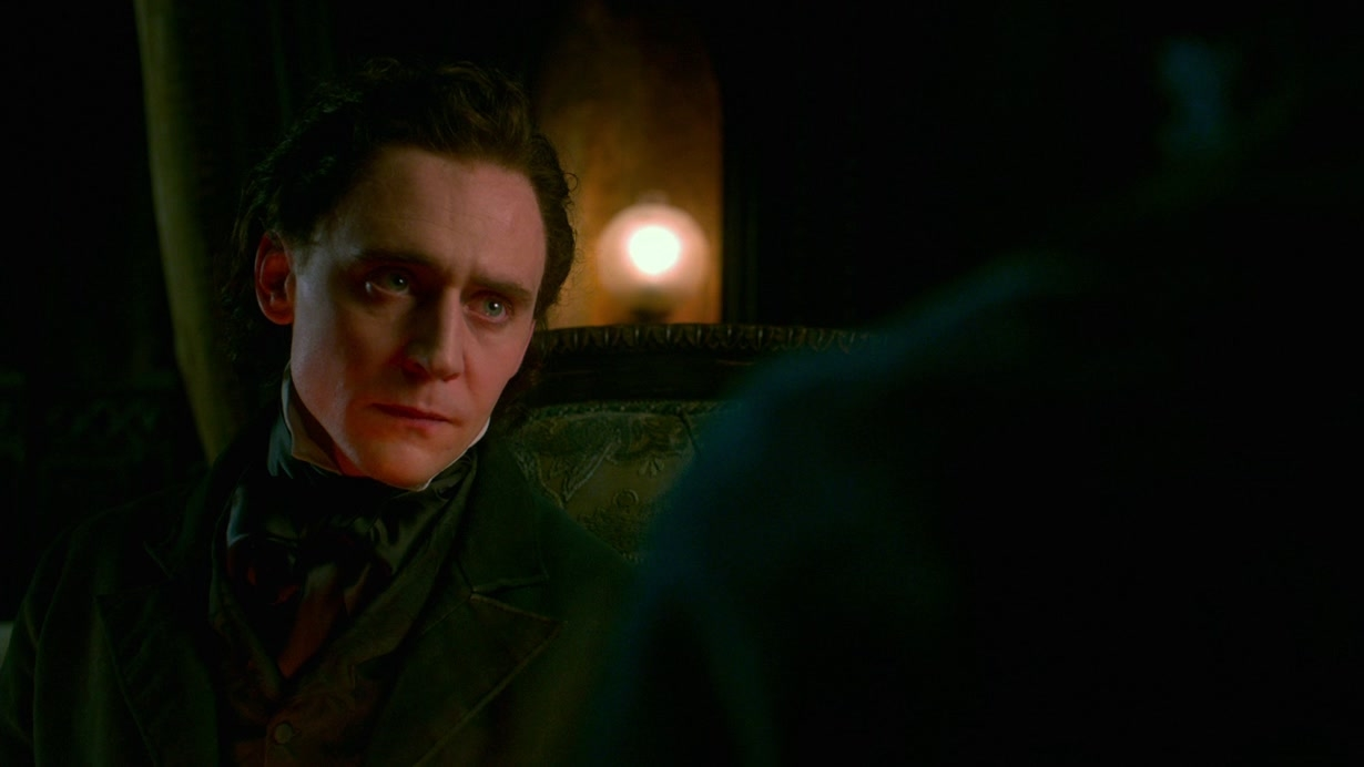 Crimson Peak: Thomas And Lucille Try To Comfort Edith