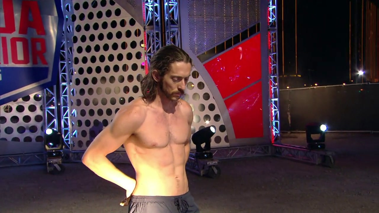 American Ninja Warrior: Isaac Caldiero Stage 3 Run