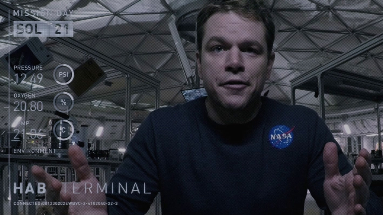 The Martian: Do The Math