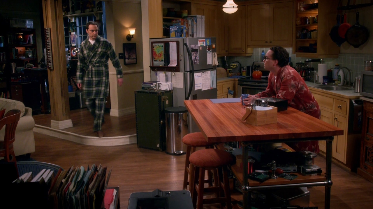 The Big Bang Theory: Why Are You Up?
