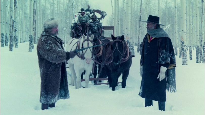 The Hateful Eight: Glorious 70 mm (Featurette)