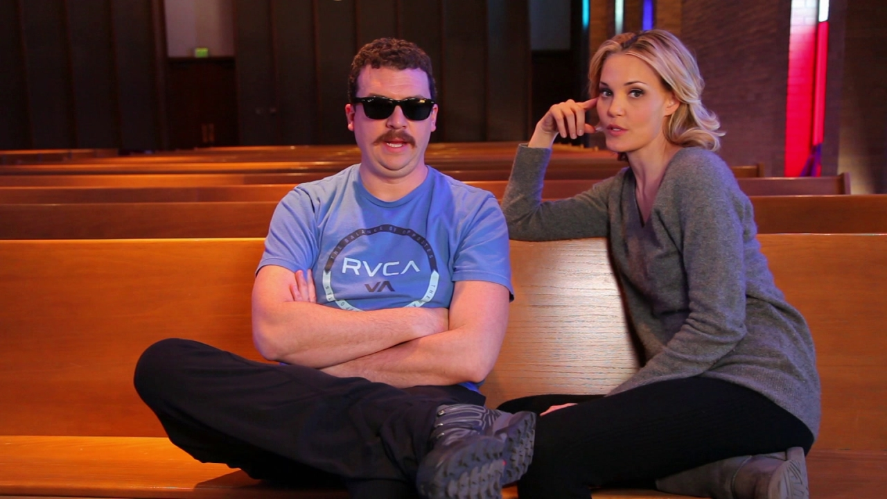 Don Verdean: Danny McBride And Leslie Bibb On Their Characters