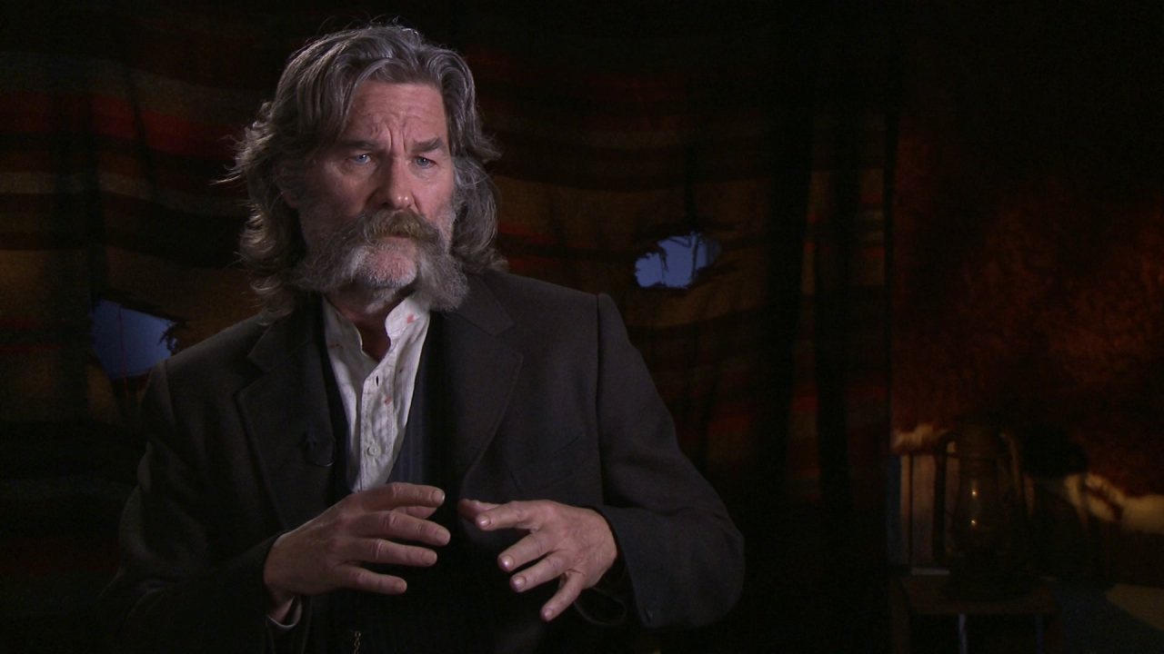 The Hateful Eight: Kurt Russell On The Screenplay