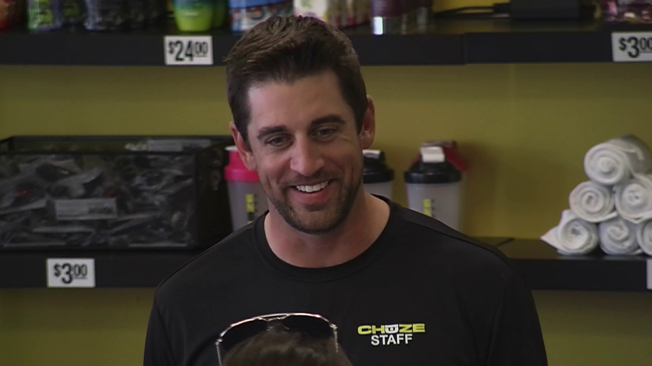 I Get That A Lot: Aaron Rodgers