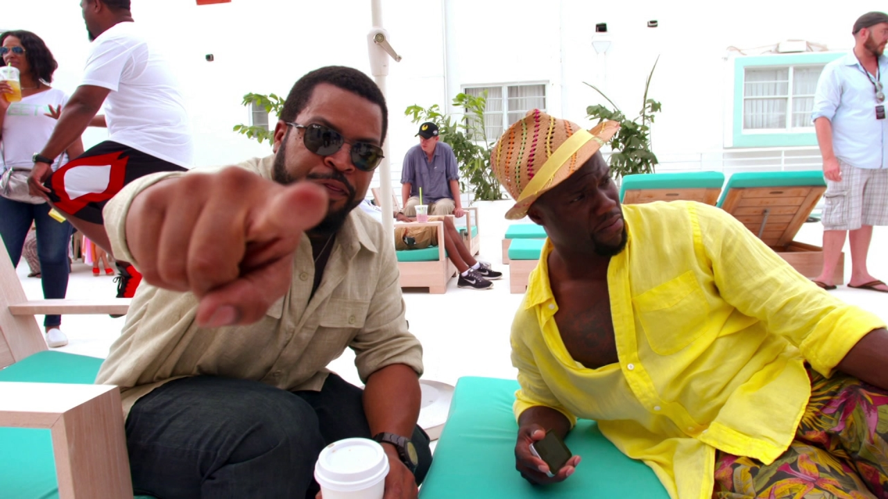Ride Along 2: Ride Along With Kevin And Cube (Featurette)