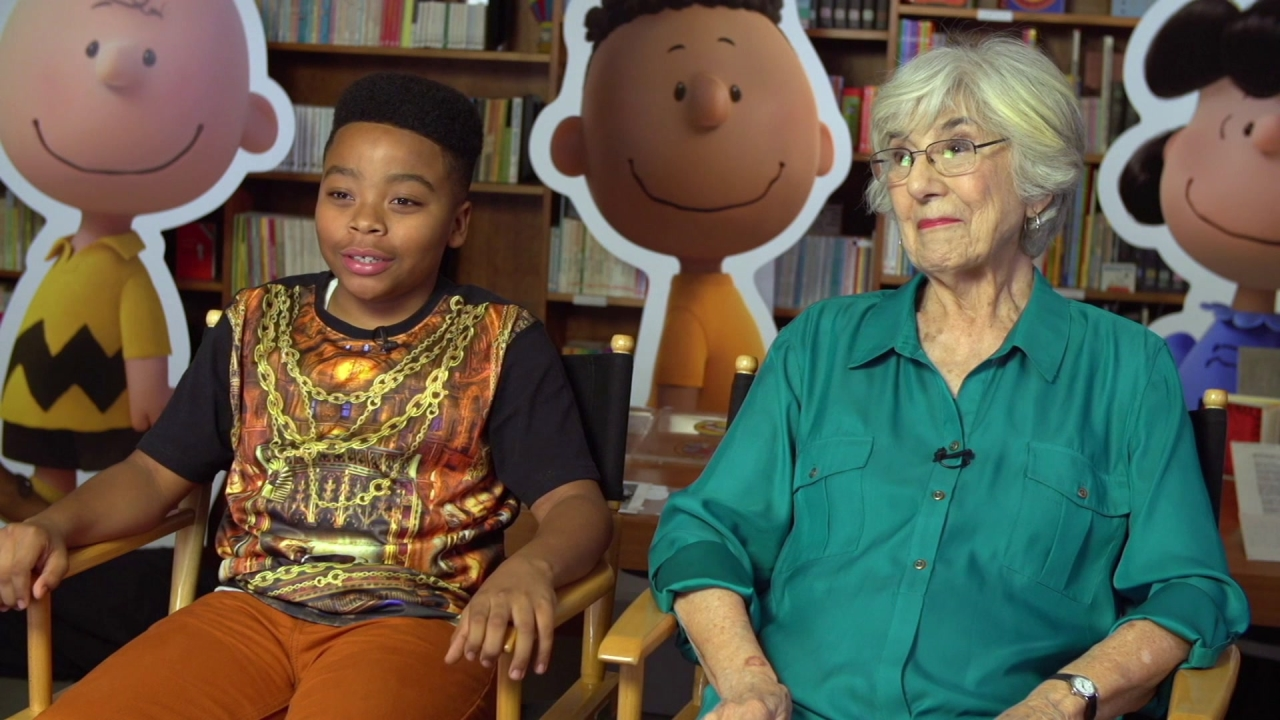 The Peanuts Movie: Mar Mar & Harriet Glickman On Taking On Franklin Armstrong