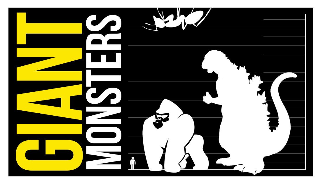Giant Monsters! List