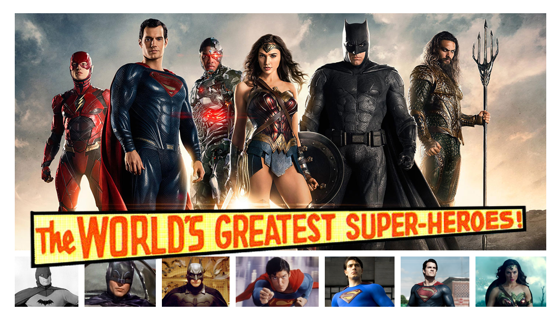 The World's Greatest Super-Heroes List
