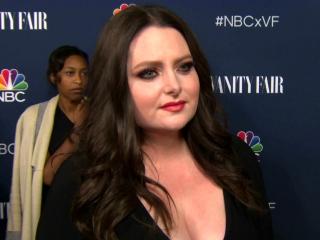 Superstore: Vanity Fair Party: Lauren Ash