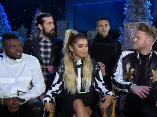 Pentatonix Christmas Special.A Pentatonix Christmas Special Interview With The Band