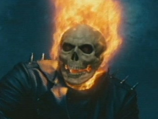 Ghost Rider Scene: Stop Following Me