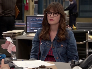 New Girl: Jess Is Given A Ton Of Paperwork To Fill Out At The 9-9