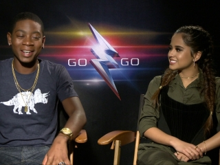 Power Rangers: Becky G And RJ Cyler On Their Experiences With Power Rangers Growing Up