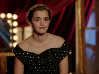 Beauty And The Beast: Emma Watson On Seeing Animated 'Beauty And The Beast' For The First Time