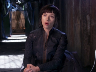 Ghost In The Shell: Scarlett Johansson about Batou (International)