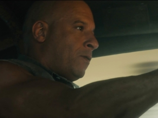 The Fate Of The Furious: Dom's Car Bursts Into Flame During A Race Through Havana