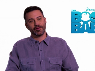 The Boss Baby: Jimmy Kimmel on the relationship between Tim and Boss Baby (International)