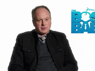The Boss Baby: Tom McGrath on Alec Baldwin as Boss Baby (International)